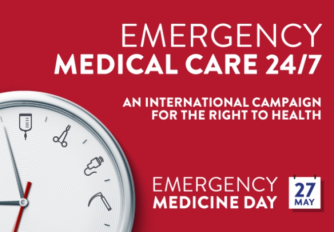 Thank you for your support for Emergency Medicine Day!!